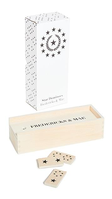 Fredericks & Mae Star Dominoes