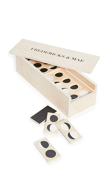Fredericks & Mae Moon Dominoes