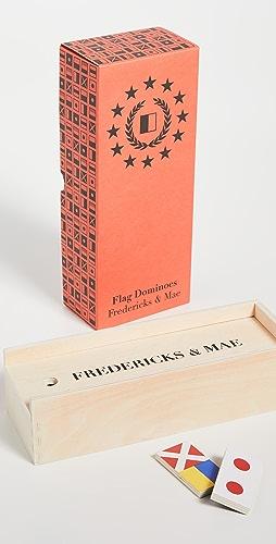 Fredericks & Mae - Flag Dominoes