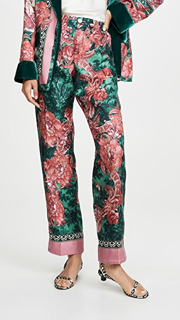 F.R.S For Restless Sleepers Silk Trousers