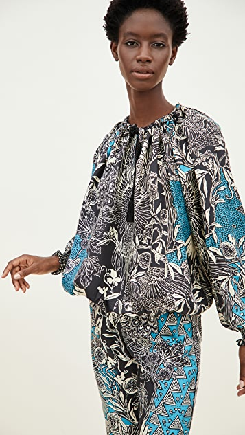F.R.S For Restless Sleepers Silk Blouse