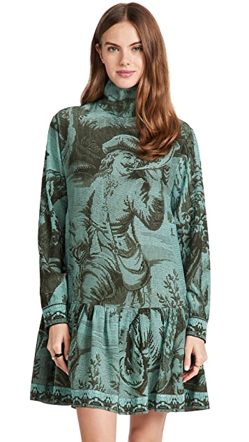 F.R.S For Restless Sleepers Turtleneck Dress