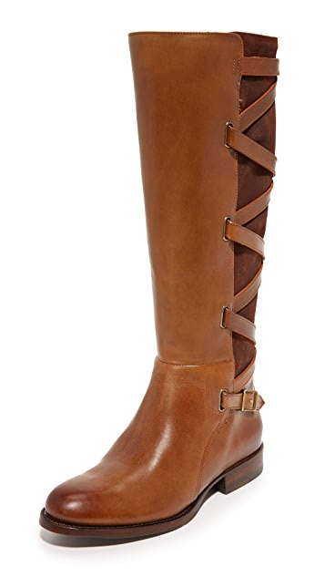 Frye Jordan Strappy Tall Boots