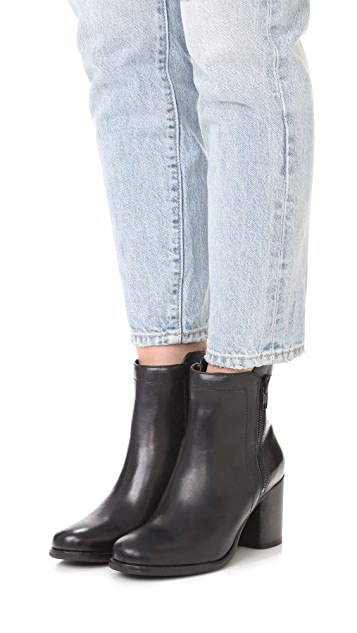 Frye Addie Double Zip Booties