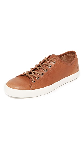 Frye Brett Low Leather Sneakers