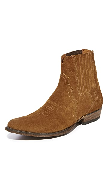 Frye Austin Suede Chelsea Boots