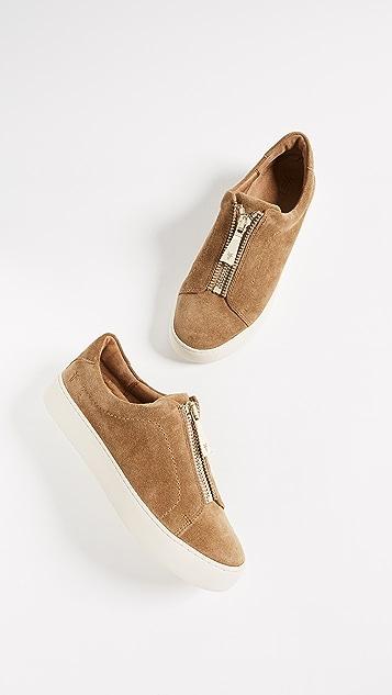 Frye Lenz Zip Low Top Sneakers