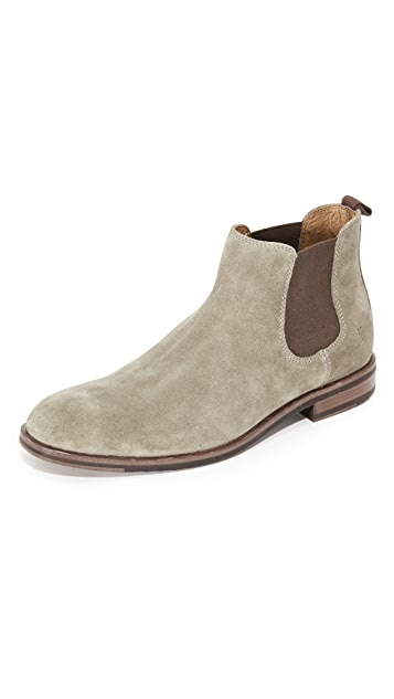 Frye Sam Suede Chelsea Boots