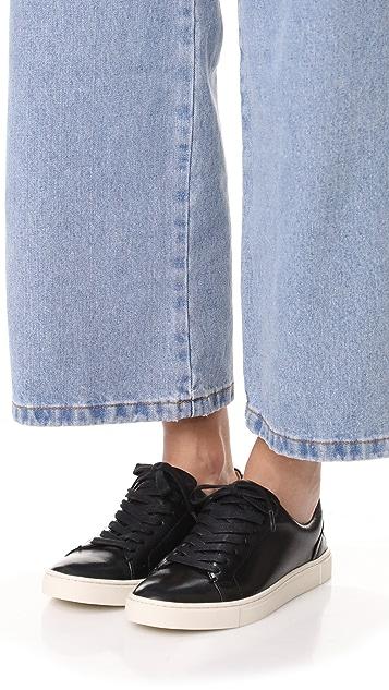 Frye Низкие кроссовки Ivy со шнуровкой