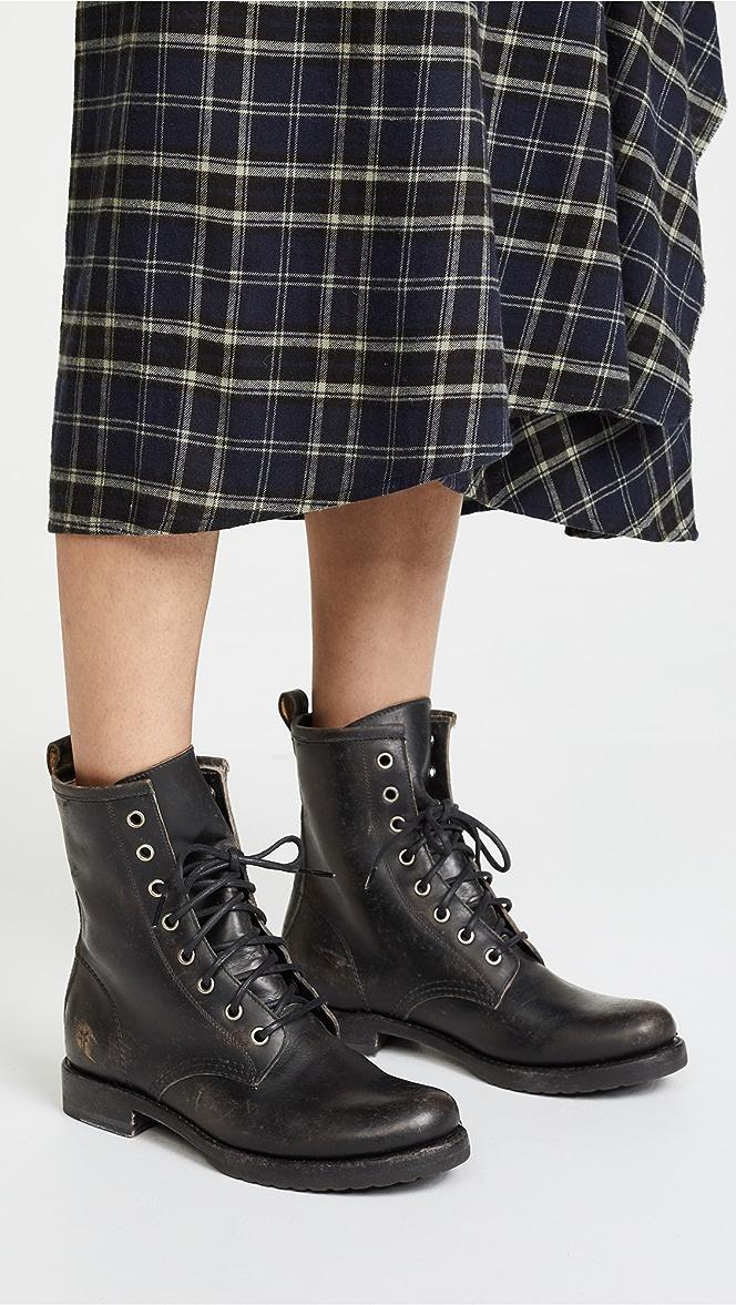 Frye Veronica Combat Boots | SHOPBOP