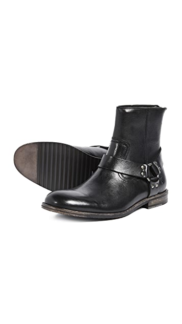 Frye Sam Harness Boots