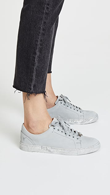 Ivy Low Lace Suede Sneakers