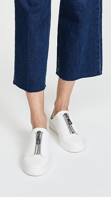 Frye Lena Zip Mule Sneakers