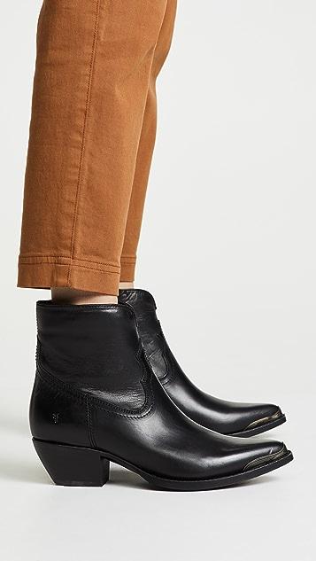 Frye Shane Tip Short Boots