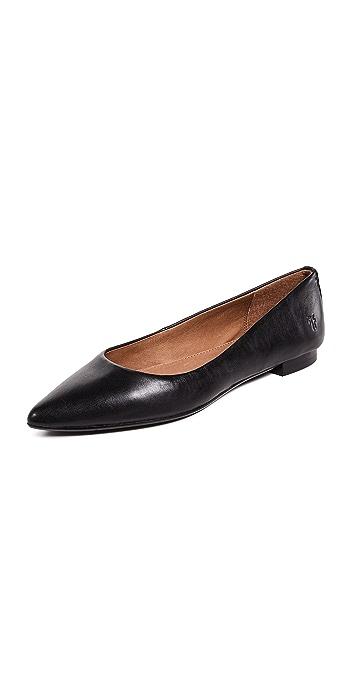 Frye Sienna Ballet Flats - Black