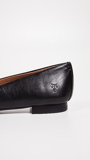 Frye Sienna 芭蕾舞平底鞋