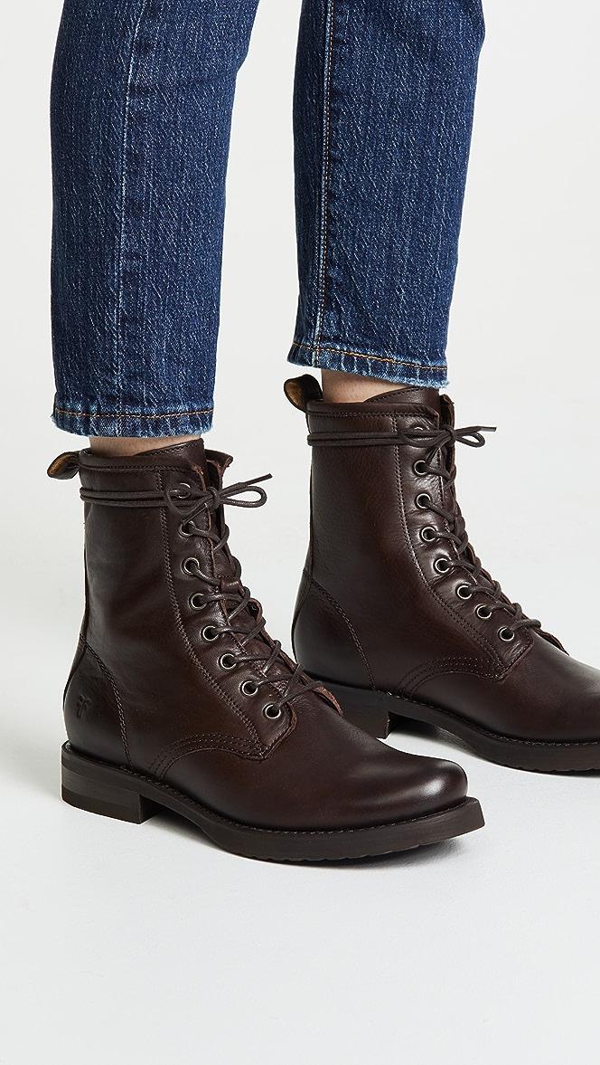 Frye Veronica Combat Boots   SHOPBOP
