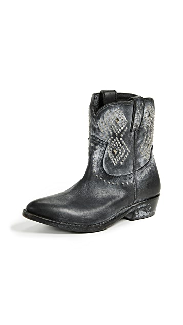 Frye Billy Stud Short Boots