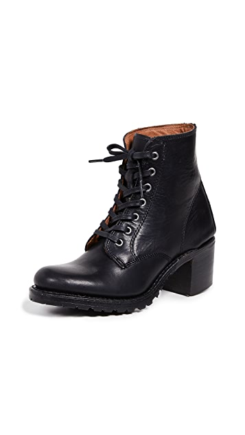 Frye Sabrina 6G 系带靴