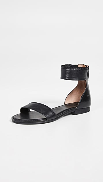 Frye Carson Ankle Zip - Black