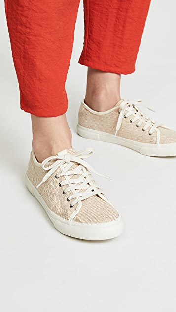 Frye Gia 帆布运动鞋