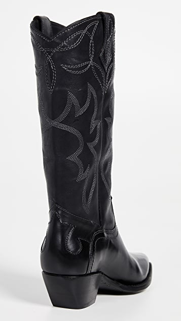 Frye Shane Embroidered Boots