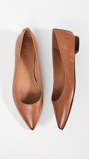 Frye Sienna 芭蕾平底鞋