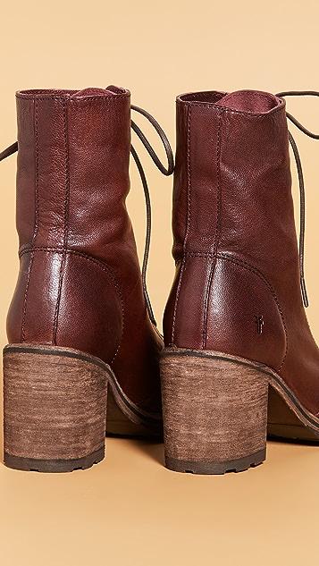 Frye Karen Combat Boots