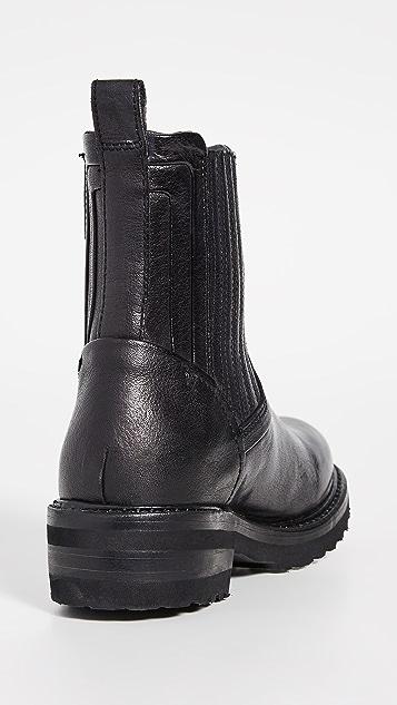 Frye Ella Moto Chelsea Boots