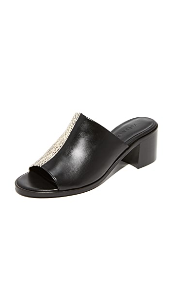 Freda Salvador The Yin Two-Tone Mules