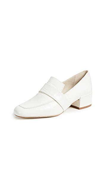 Freda Salvador The Rock Block Heel Loafers