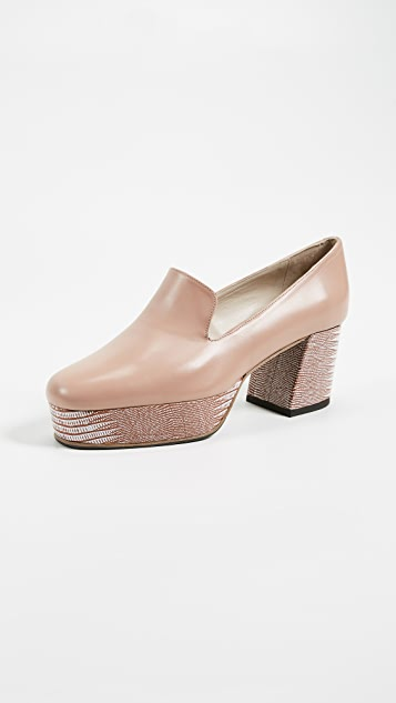 Freda Salvador The Flare Platform Loafers