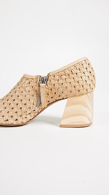 Freda Salvador Poppy Block Heel Ankle Boots