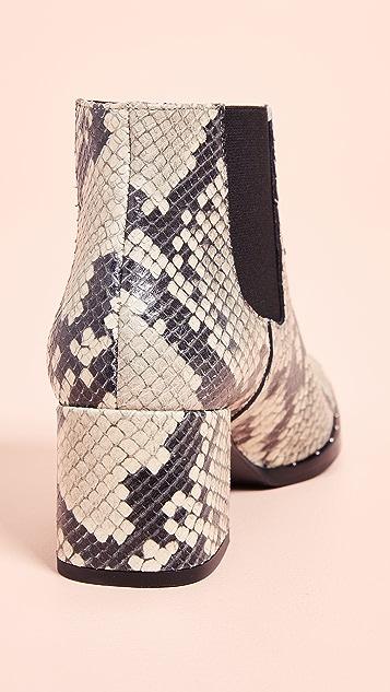 Freda Salvador Virgo Mid Heel Chelsea Boots