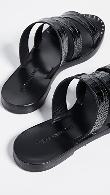 Freda Salvador Iris Strappy Sandals