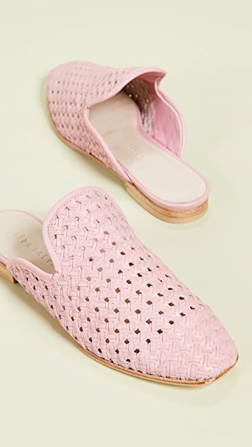 Freda Salvador Murphey Woven Mules