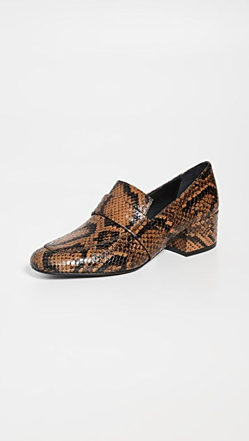 Freda Salvador The Rock Mid Heel Loafers