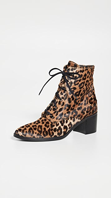 Freda Salvador The Ace Lace Up Booties