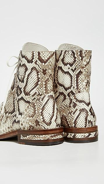 Freda Salvador Ralf Combat Boots