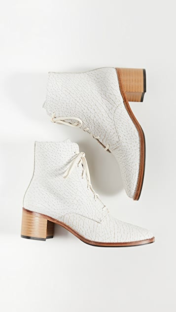 Freda Salvador Ace Lace Up Booties