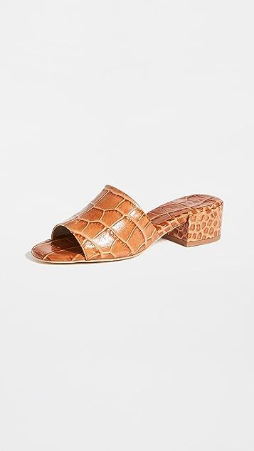 Freda Salvador Sonia Mid Heel Sandals
