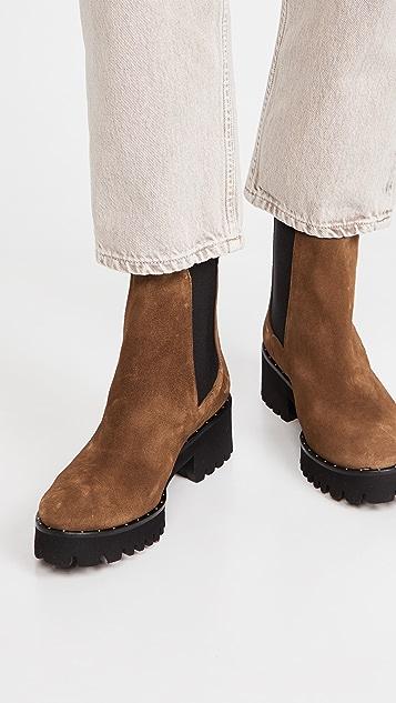 Freda Salvador Brooke 防水沟纹鞋底靴子