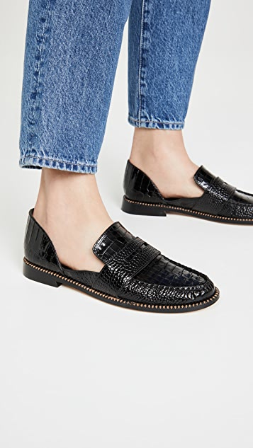 Freda Salvador Tash D'orsay Loafers