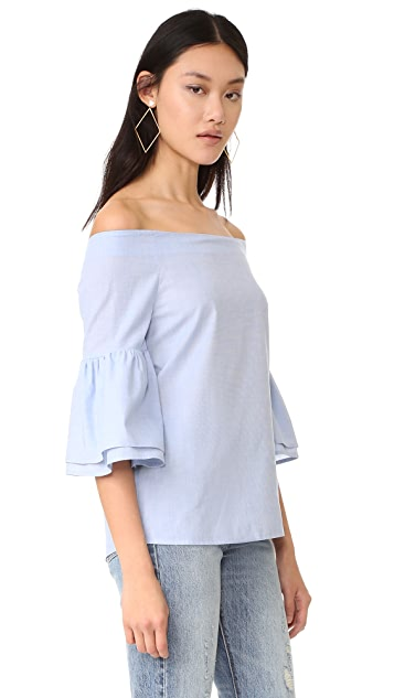 Fred and Sibel Off Shoulder Shirt