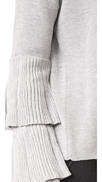 Fred and Sibel Layer Sleeve Sweater