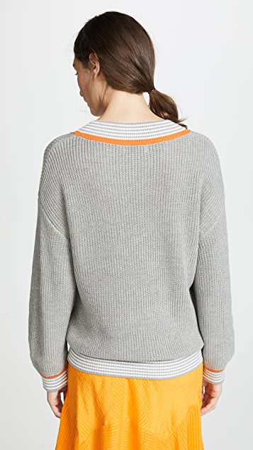 Fred and Sibel Bell Sleeve Sweater