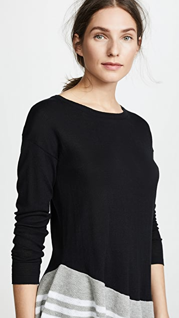 Fred and Sibel Peplum Sweater
