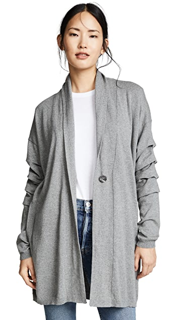 Fred and Sibel Shawl Collar Cardigan