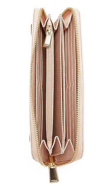 Furla Capriccio Zip Around Wallet