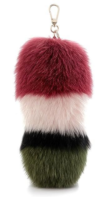 Furla Подвеска для сумки в виде объемного помпона